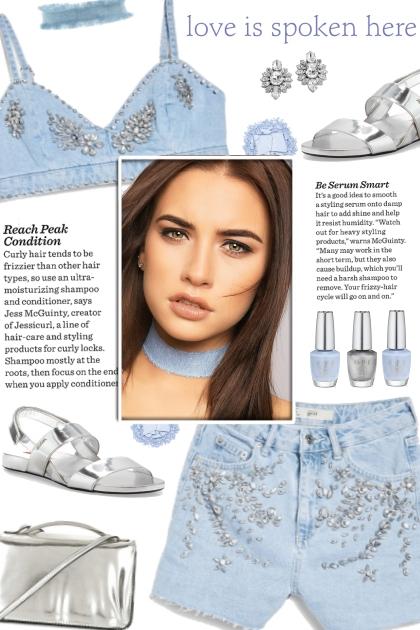 How to wear an Embellished Denim Bralet!