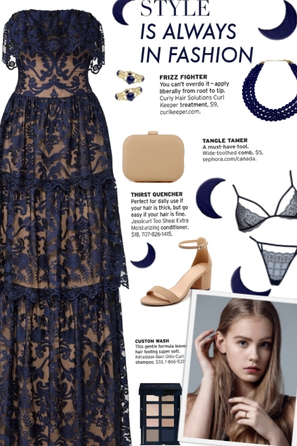 How to wear a Layered Lace Gown!