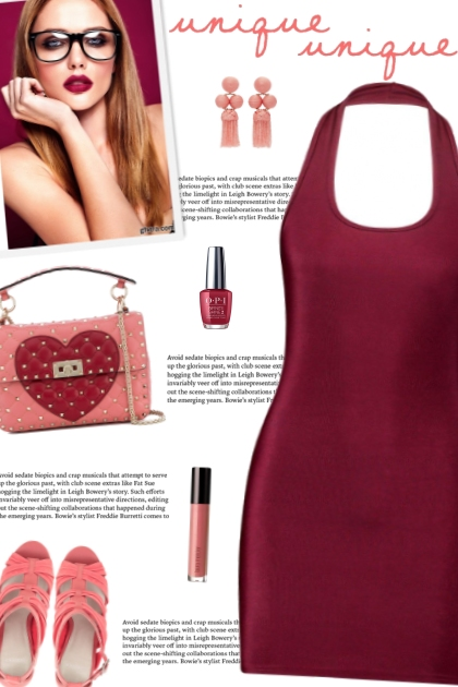 How to wear a Halter Mini Dress!