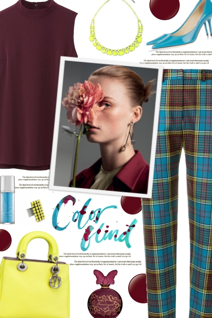 How to wear Tartan Tailored Trousers!