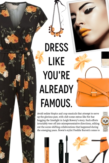 How to wear a Floral Wrap Jumpsuit!