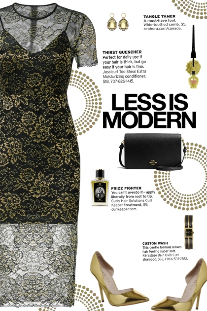 How to wear a Gold Floral Lace Midi Dress!