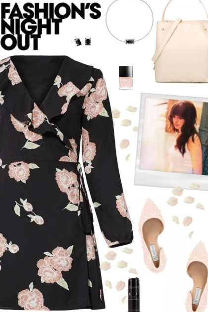 How to wear a Full Sleeve Floral Wrap Dress!