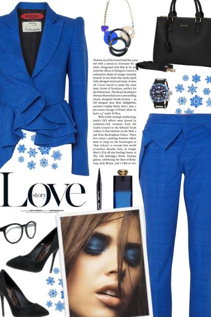 How to wear an Asymmetrical Silk Blazer & Trouser!