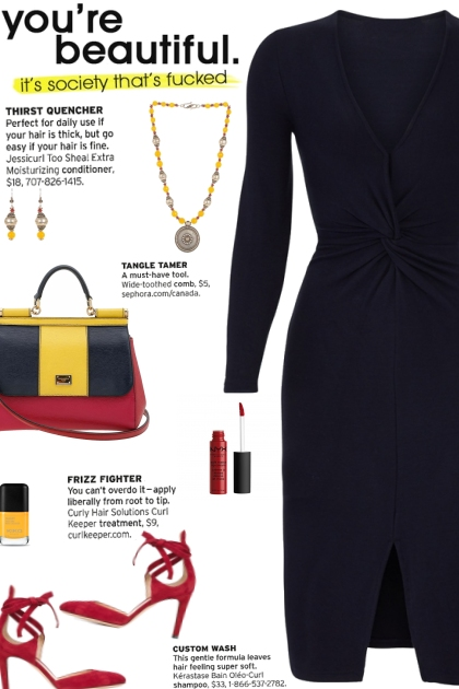 How to wear a Knotted Front Twist Dress!