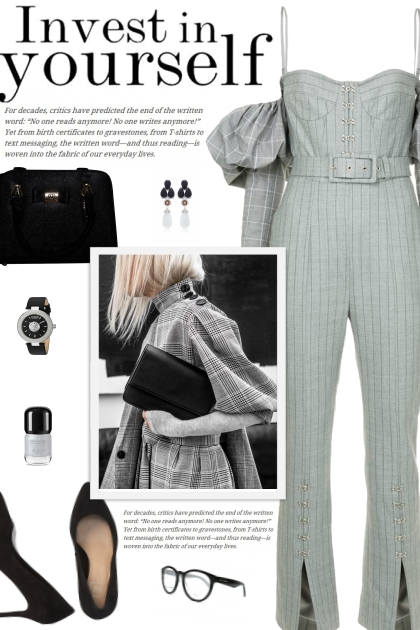 How to wear a Spaghetti Strap Belted Jumpsuit!