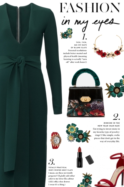 How to wear a Plunge Long Sleeve Sheath Dress!
