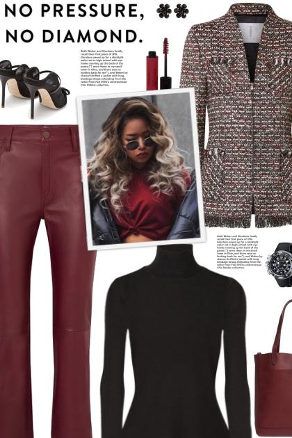 How to wear an Embellished Metallic Blazer!