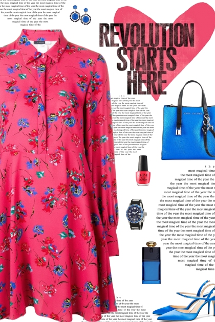How to wear a Floral Printed Full Sleeve Dress!