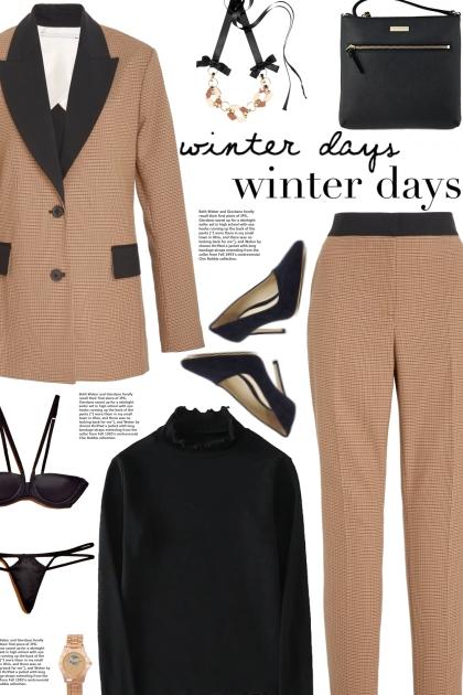 How to wear Co-Ord Contrast Lapel Blazer & Trouser