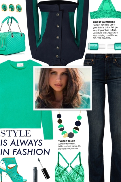 How to wear a Two Toned High Collar Jacket!