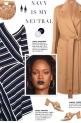 How to wear an Asymmetrical Striped Midi Dress!