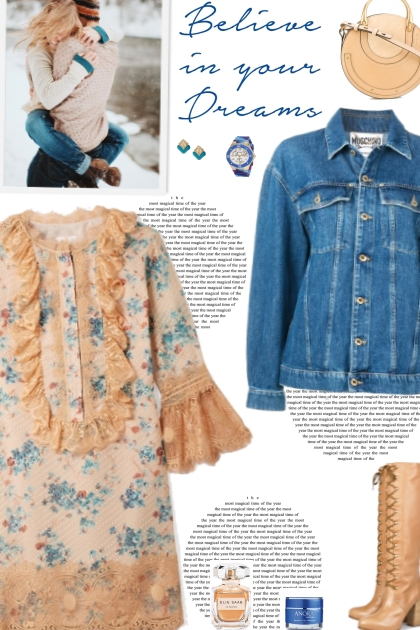 How to wear an Oversized Long Sleeve Denim Jacket!