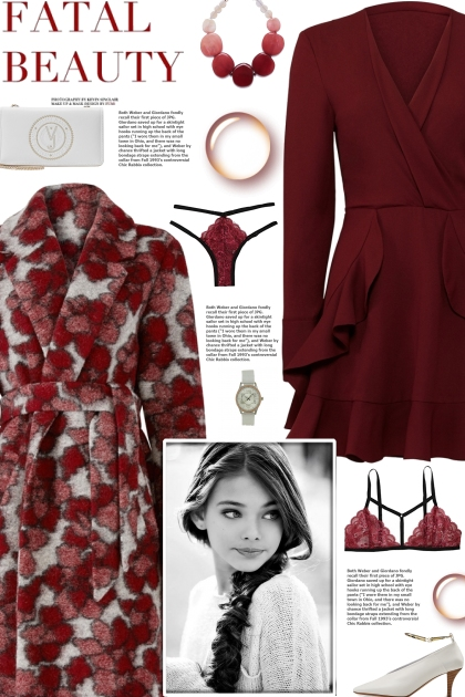 How to wear a Long Shawl Collar Floral Coat!