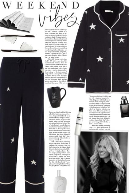 How to wear a Co-Ord Star Embroidered Pajama Suit!