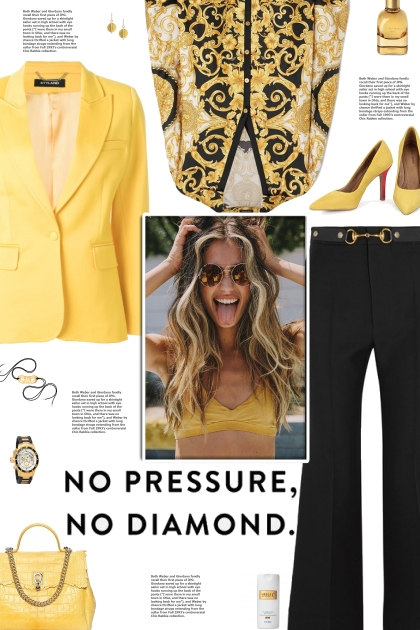 How to wear a Printed Silk-Charmeuse Blouse!