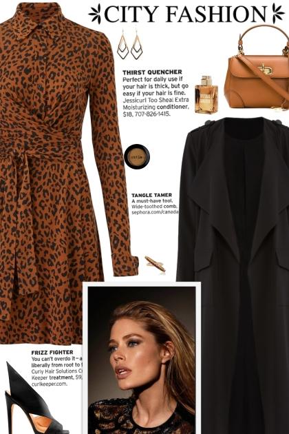 How to wear a Leopard Print Shirtdress!