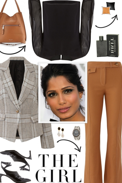 How to wear a Checked Tweed Blazer!