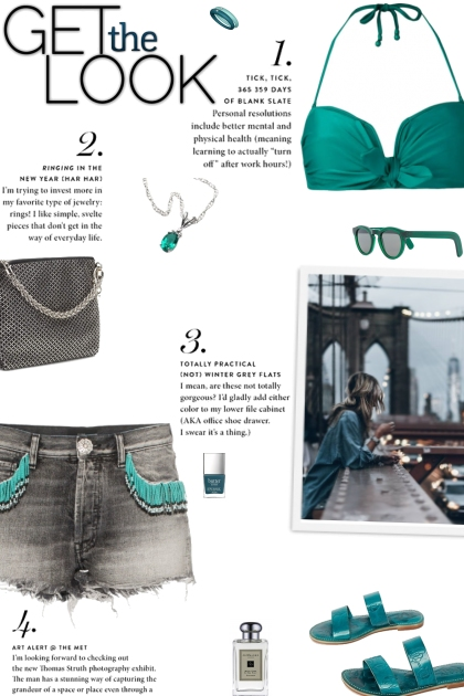 How to wear a Fringed & Frayed Denim Shorts!