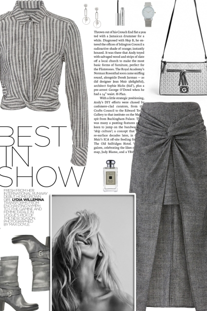 How to wear a Striped Cropped Shirt!