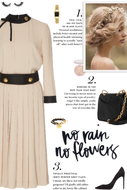 How to wear a Button-Detailed Pleated Dress!