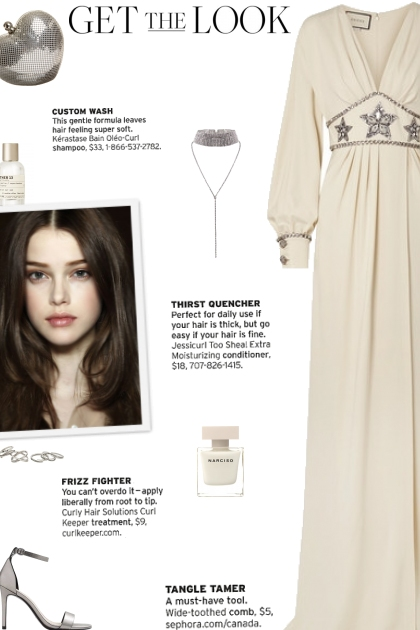 How to wear a Crystal Embellished Plunging Gown!