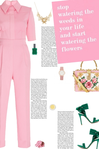 How to wear a Collared-Fitted Jumpsuit!