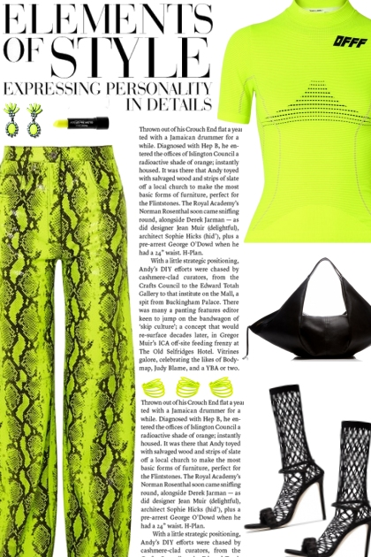 How to wear a Neon Snake Effect Leather Pants!