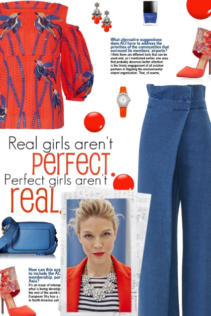 How to wear a Flared Wrap Jeans!