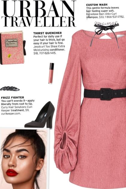 How to wear a Balloon Long Sleeve Mini Dress!