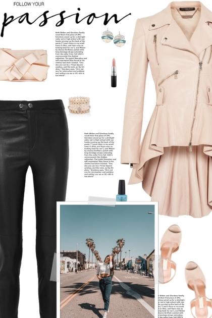 How to wear a Leather Peplum Jacket!