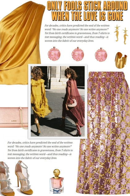 How to wear a Sequined Tulle Midi Skirt!