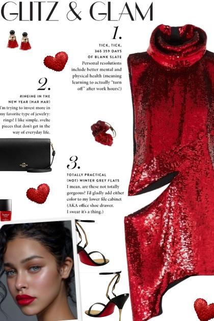 How to wear an Asymmetrical Sequin Cut-Out Dress!