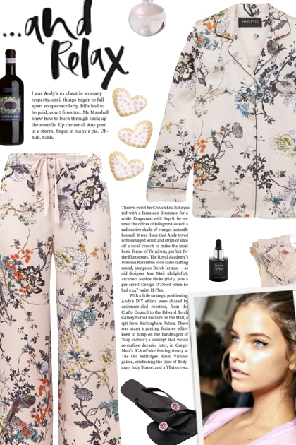 How to wear a Co-Ord Floral Printed Pajama Set!