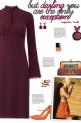 How to wear a Keyhole Long Sleeve Dress!