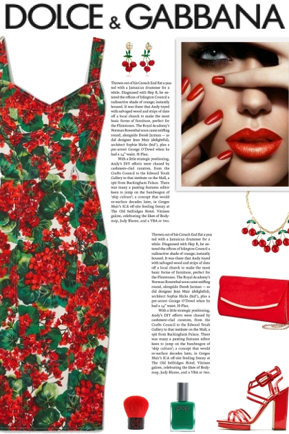 How to wear a Floral Stretch-Cady Dress!