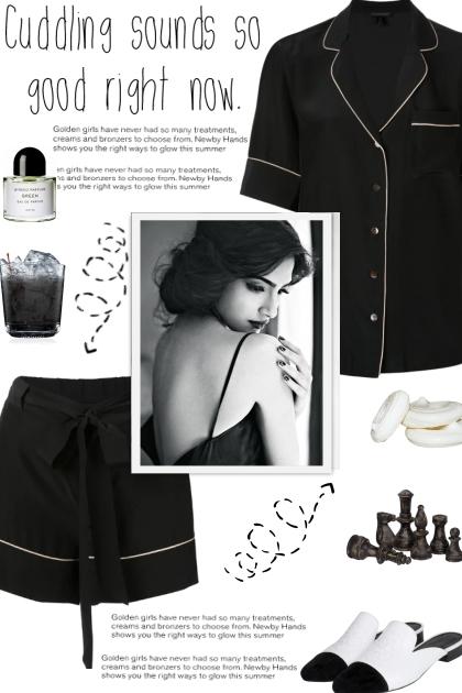 How to wear Co-Ord Silk Button Down Sleepwear Set!