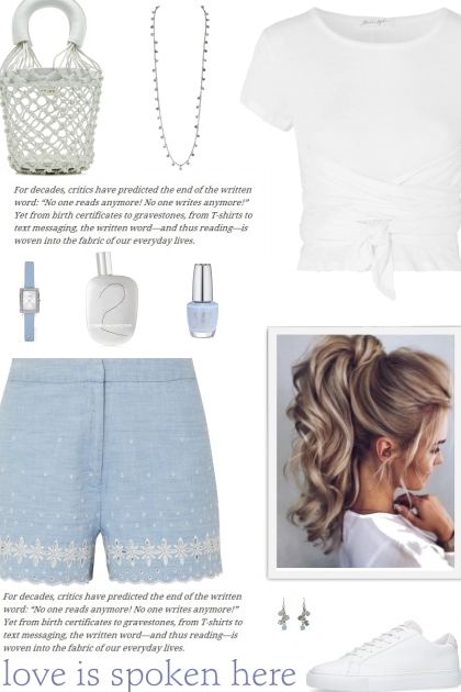 How to wear an Embroidered Cotton Shorts!
