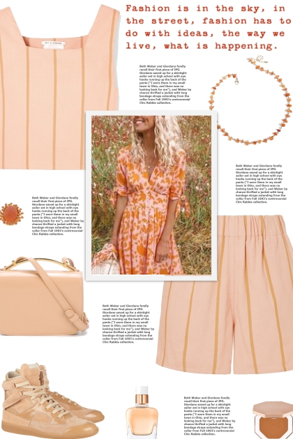 How to wear a Co-Ord Striped Cotton Set!