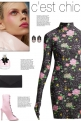 How to wear a Glove-Sleeved Floral Mini Dress!