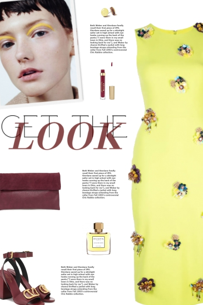 How to wear an Embellished Knee Length Dress!- Fashion set