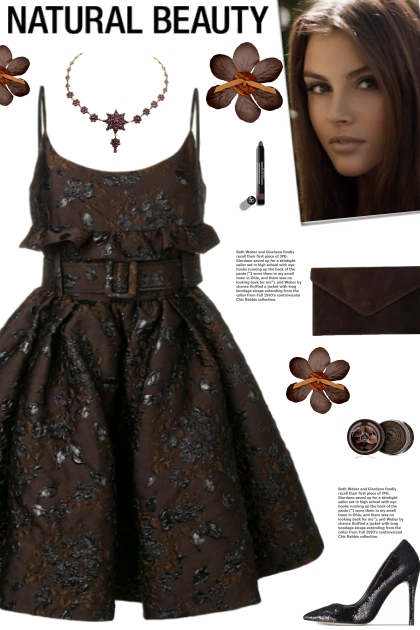 How to wear a Floral Embroidered Belted Dress!