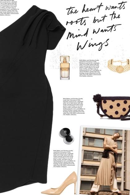 How to wear a One-Shoulder Ruffled Midi Dress!