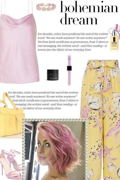 How to wear a Floral Print Wide Leg Culottes!