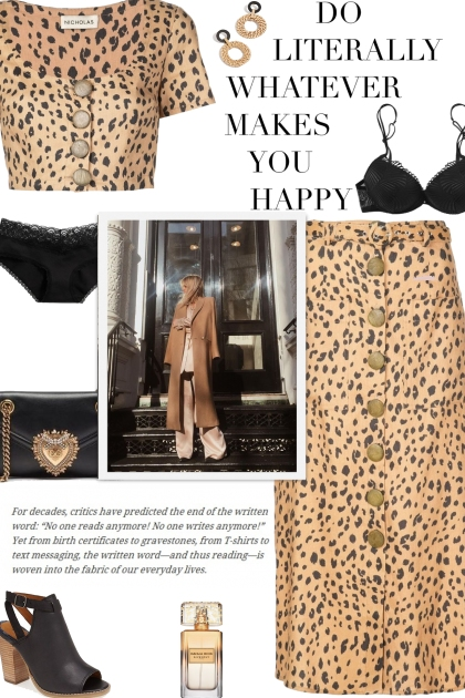 How to wear a Co-Ord Leopard Print Buttoned Set!