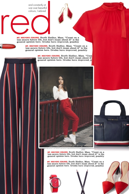 How to wear a Pleated Striped Cropped Trousers!