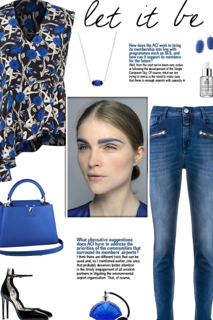 How to wear an Asymmetrical Floral Print Blouse!