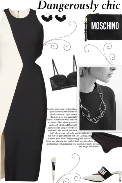 How to wear a Cut-Out Two-Toned Bodycon Dress!