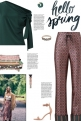 How to wear a Printed Pyjama Pants!