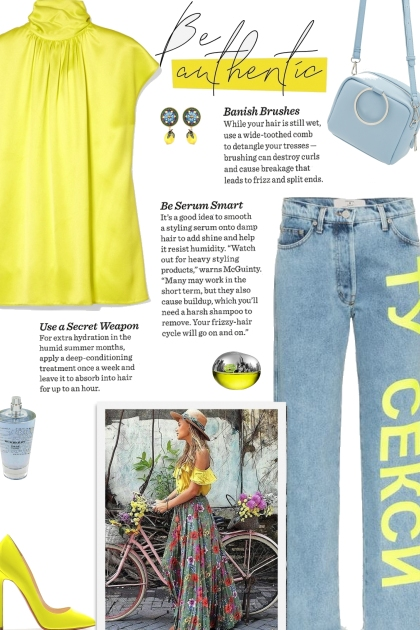 How to wear a High Neck Neon Satin Top!